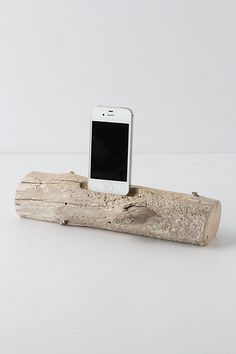 iphone driftwood charger. WANT.