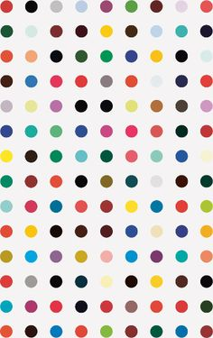DAMIEN HIRST  Moxisylyte, 2008–11  Household gloss on canvas  81 x 51 inches  (205.7 x 129.5 cm)