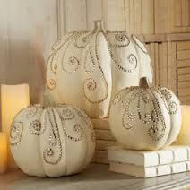 jeweled decorated pumpkins - Google Search