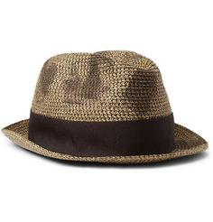 Paul Smith Shoes & AccessoriesWoven-Paper Trilby Hat