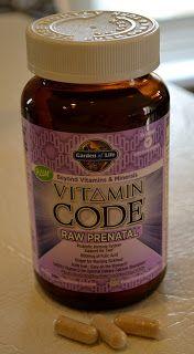 Ashley's Green Life: My Prenatal Vitamins and Supplements
