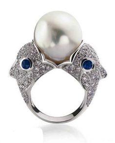 Cartier - Twelve Constellation Series Ring-- Pisces