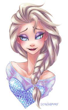 More Elsa by semehammer.deviantart.com on @deviantART