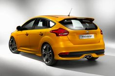 New Review 2015 Ford Focus ST Release Rear View Model