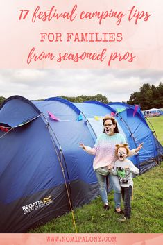17 festival camping tips for families from seasoned pros - nomipalony Camping Uk, Camping With Kids, Family Camping, Camping Hacks, Family Travel, Camp Bestival, California Beach Camping, Family Tent, Festival Camping