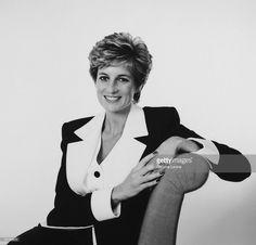 Princess Diana, Princess of Wales (1961 - 1997), circa 1995.
