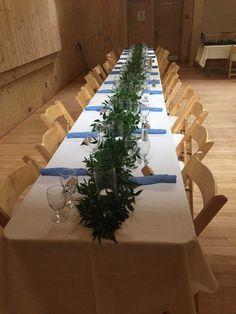 #receptionflowers#weddinggarland#greenerygarland#weddingflowers#italianruscus#bradfordgreenhouses