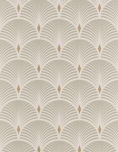 BAKER wallpaper, vinyl on non-woven graphic, gray and gold baker graphic vinyl wallpaper woven 707628160184517990 Vinyl Wallpaper, Art Deco Wallpaper, Room Wallpaper, Pattern Wallpaper, Coastal Wallpaper, Designer Wallpaper, Motif Art Deco, Art Deco Design, Salon Art Deco