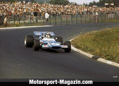 Formel 1 1969, Deutschland GP, Nürburg, Jackie Stewart, Matra, Bild: Sutton