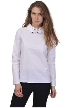 Vivetta-hands collar shirt