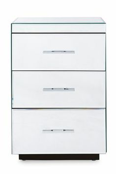 Buy Simpson Mirrored Bedside Chest from the Next UK online shop Wide Chest Of Drawers, Bedside Chest, Next Uk, Filing Cabinet, Uk Online, Shop, Bedroom Ideas, Tables, Interior
