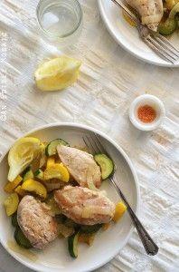 One-Skillet Chicken and Summer Squash Sauté Recipe