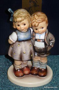 """The Little Pair"" Goebel Hummel Figurine #449 TMK7 W/ Box **EXCLUSIVE EDITION**"
