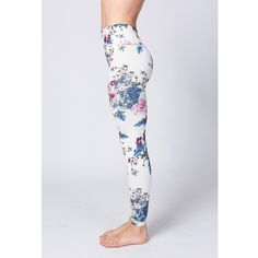 Yoga Pants High Waist Floral Printed Leggings Women's Soft Elastic Workout Running Fitness Pants Mixed colors Free Shipping