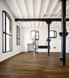 Passatge del Sucre: 29 exclusivos lofts recuperados en el Poblenou de Barcelona, por Jordi Garcés.