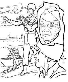 presidents day dwight eisenhower coloring pages
