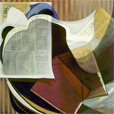 Nemesio Antúnez, 'Diario sobre la cama', 1988, óleo sobre lienzo, 90 x 90 cm, Chile / arte, pintura, latin art