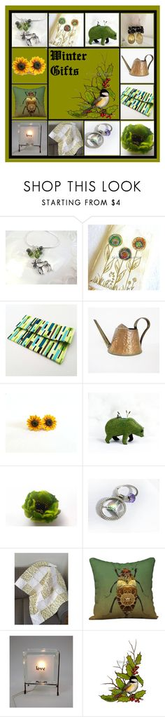 """""""Winter Gifts"""" by inspiredbyten ❤ liked on Polyvore featuring Pocket Book and vintage"""