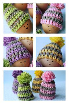 Egg hats--pattern