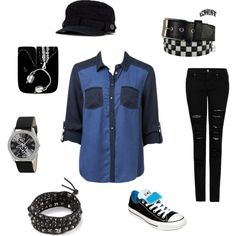 A fashion look from November 2013 featuring Forever New tops, MANGO jeans and Converse sneakers. Browse and shop related looks.