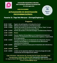 Asociación Psiquiátrica Peruana - Cursos Pre-Congreso APP 2015