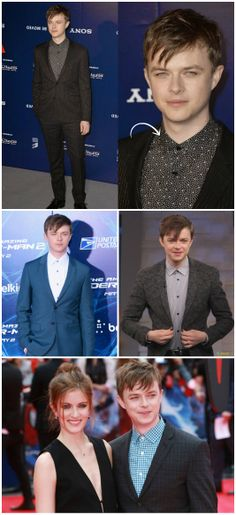 Dane Dehaan with his wife Anna at The Amazing Spider Man 2 - Royal Fashionist