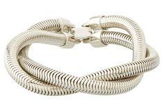 Twisted Snake Chain Bracelet on OneKingsLane.com