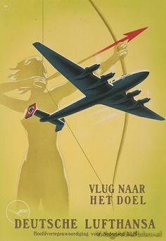 Lufthansa Nazi 1940 & KLM Nederland