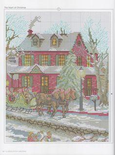 Gallery.ru / Фото #57 - A Cross Stitch Christmas Handmade Holiday - Marina-Melnik