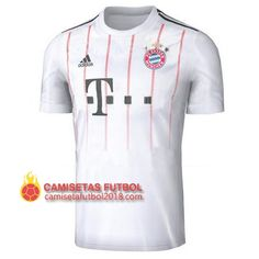 5e4ee3271a8ec Tercera camiseta Tailandia del Bayern Munich 2017 2018. camiseta futbol  baratas 2017 2018