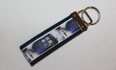 Doctor Who Inspired Keychain Key Fob by RedShirtCreations on Etsy
