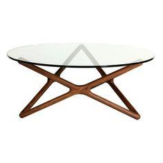 Amal Coffee Table Walnut, at 55% off!