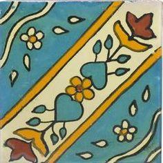 $2.25 4x4 Ixtapa - Talavera Mexican Tile