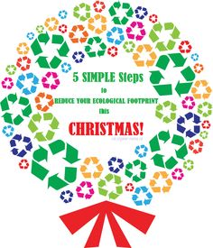 Reducing your ecological footprint this Christmas!