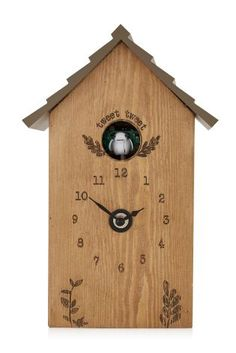 Rustic Wooden Cuckoo Clock