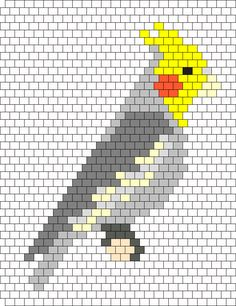 Cockatiel Bead Pattern