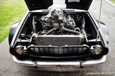 Supercharged 1UZ Flared KE30 Toyota Corolla A few years ago I saw this crazy Old School KE30 Toyota Corolla at the Japanese Classic Car Show. It had flared fenders and a 1uZFE engine with a superch…