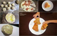 Κιμαδόπιτες με ξινομυζήθρα ή φέτα και σπιτικό φύλλο χωρίς πλάστη! - cretangastronomy.gr Eggs, Breakfast, Ethnic Recipes, Food, Morning Coffee, Essen, Egg, Meals, Yemek