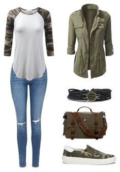 """Army"" by angela229 ❤ liked on Polyvore featuring Ash and Topshop"