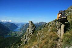 Randonnées autour des grands lacs italiens (Côme, Majeur & Orta)