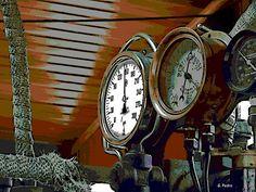 Steam Train Gauges