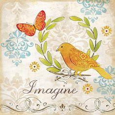 Fleur de Lis Bird II  Cynthia Coulter