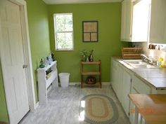 We decided to use a dry-brush technique to paint the plywood floor for the time being. I leveled it the best I could and sanded it but serio. Painting Plywood, Painted Plywood Floors, Wood Plank Flooring, Kitchen Flooring, Diy Painting, Flooring Ideas, Dry Brush Technique, Shed Interior, Carpet Sale