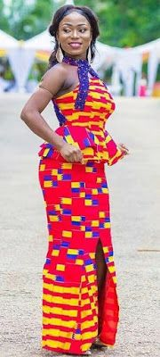 Best Ghanaian Kente Styles 2018 To Choose Your Designs  #style #styleinspiration #african #africanfashion #africanprint