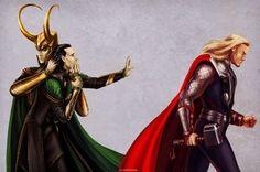 avengers fan art loki - Google Search