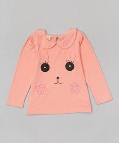 Pink Face Peter Pan Tunic - Toddler & Girls