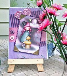 Santoro's Gorjuss handmade card.