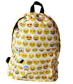 Emoji black 3D printing ladies feminina man shoulder women bag children school bags Girl Mochila Escolar infantil backpack
