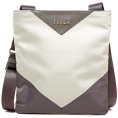 99ef12715168 Furla Calypso Nylon Mini Crossbody (120 745 LBP) ❤ liked on Polyvore  featuring bags
