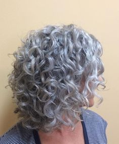 to natural curly hairstyles african american hairstyles cute hairstyles thin hair hair volume products hairstyles for girls hairstyles hairstyles over 60 hairstyles how to Grey Curly Hair, Curly Hair Cuts, Short Curly Hair, Wavy Hair, Curly Hair Styles, 3b Hair, Updo Curly, Curly Girl, Girl Hair